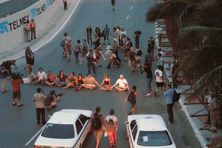 *2.1 *Street Blockade