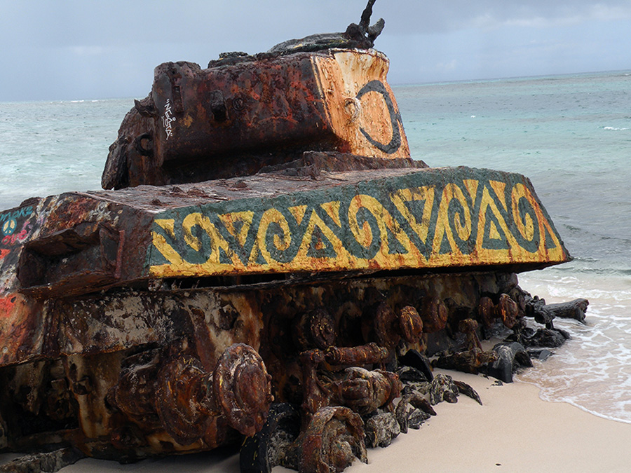 Petermann's Tank in Culebra